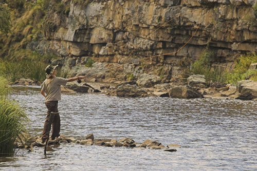 Yellowfish Flyfishing on the Klipplaat River